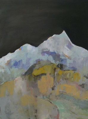 Blauer Berg, 2013, 80x60 cm