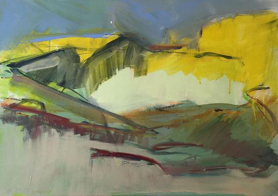 Saratoga, 2018,Acryl auf Leinwand,50x70