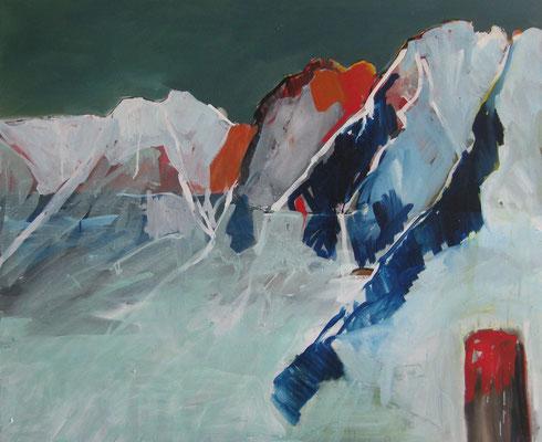 Zermatt, 2015, Acryl auf Leinwand, 100x120 cm