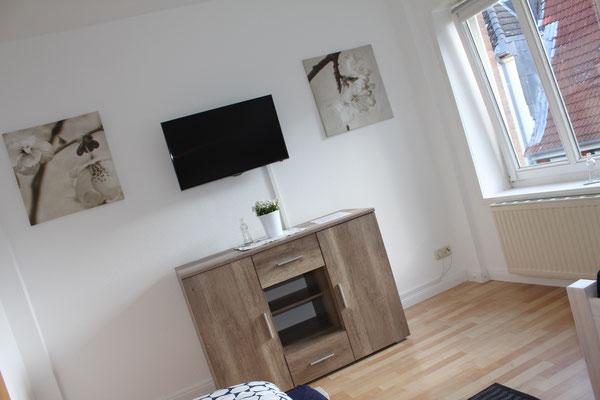 Zimmer 2 mit TV, für zwei Personen