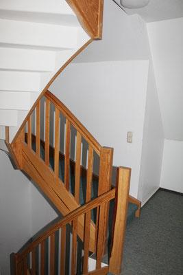 Treppe in der Ferienwohnung