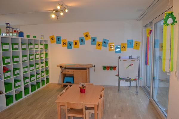 Bilder kita kinderwerkstatt in schaffhausen for Raumgestaltung kita 0 3