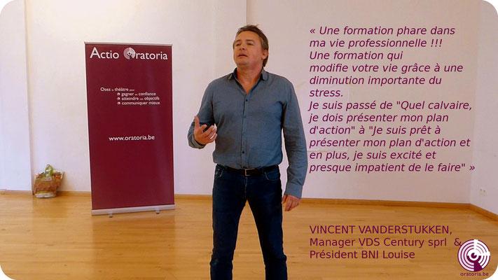 Vincent Prise de Parole en Public Communication Belgique