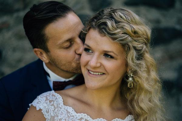 Standesamt Rheinheim, Braut, Bräutigam, Brautpaar-Aufnahmen, Brautpaar-Portraits, Hochzeitsfotografin Rheingau, Wiesbaden, Umgebung