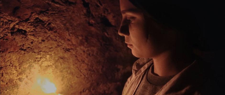 short film still of the medallion directed by Aurel Ganz