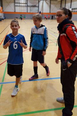 TSHG U 14 mit Trainerin Nadine Thiem