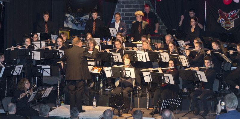 10 Jahre Schöne Töne Hagen,  Jubiläumskonzert mit großem Schlagwerk, März 2019