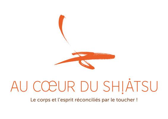 Au Coeur du Shiatsu • Charte graphique • Identité visuelle • Papeterie • Leïla Larose • Graphiste • Vaucluse