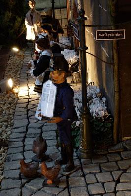 denn alles war so gewesen,  (Milieukrippe in Sankt Maria in Lyskirchen, Foto © lyskirchen)