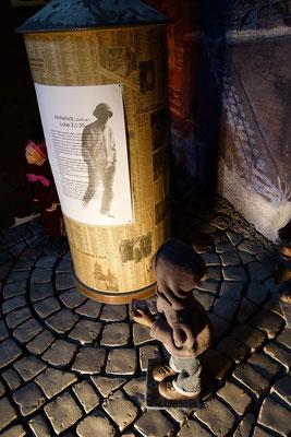 Als sie es sahen, erzählten sie, was ihnen über dieses Kind gesagt worden war. (Milieukrippe in Sankt Maria in Lyskirchen, Foto © lyskirchen)