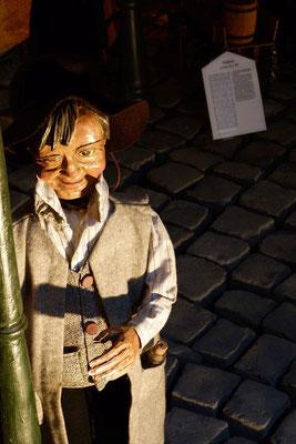 und priesen ihn für das, was sie gehört und gesehen hatten;  (Milieukrippe in Sankt Maria in Lyskirchen, Foto © lyskirchen)