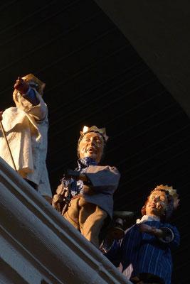 mit Neujahr machen sich auch die Sternsinger auf den Weg (Milieukrippe in Sankt Maria in Lyskirchen, Foto © lyskirchen)