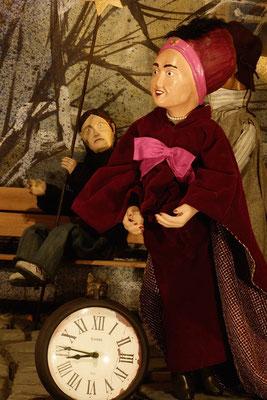 """Maria Brecht erinnert an das Wort des Philosophen Ovid """"Nichts Eiligeres als Jahre""""  (Milieukrippe in Sankt Maria in Lyskirchen, Foto © lyskirchen)"""