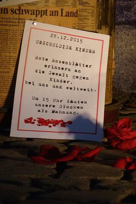 Kinder haben das Recht auf Gleichbehandlung und Schutz vor Diskriminierung unabhängig von Religion, Herkunft und Geschlecht (Milieukrippe in Sankt Maria in Lyskirchen, Foto © lyskirchen)