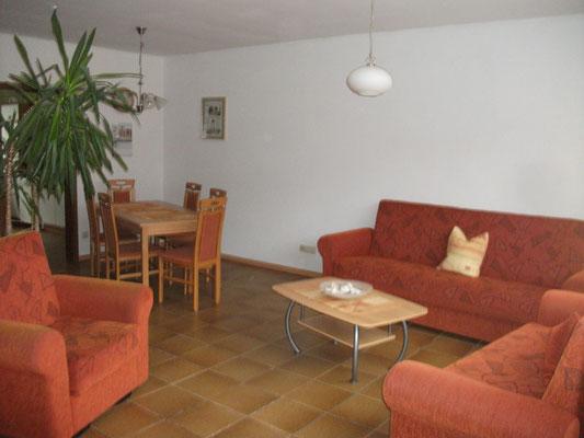 Ferienwohnung im Pfälzerwald, Sonja Anton Eußerthal, Pfalz, Südliche Weinstraße, Wohn- Esszimmer