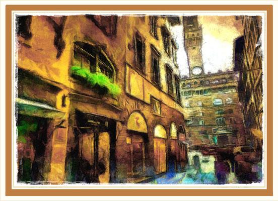 Firenze - Scorcio Piazza della Signoria