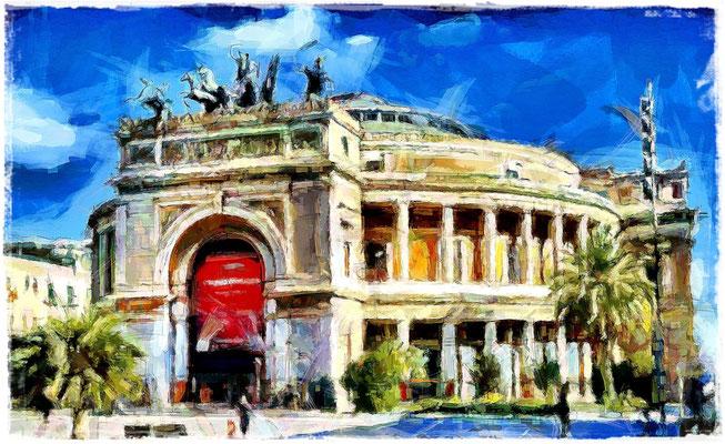 Palermo - Teatro dell'Opera