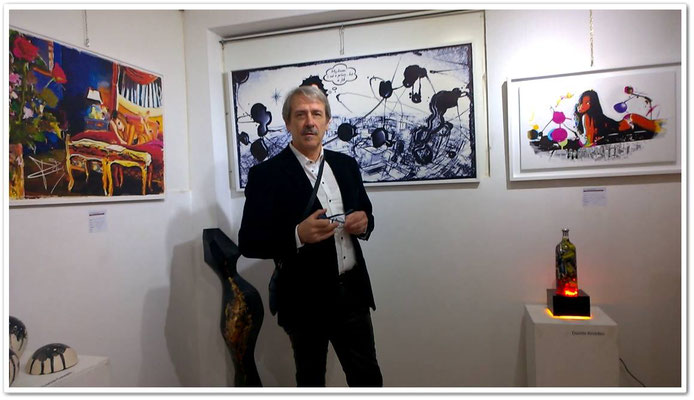 L'artista Richard Feeling