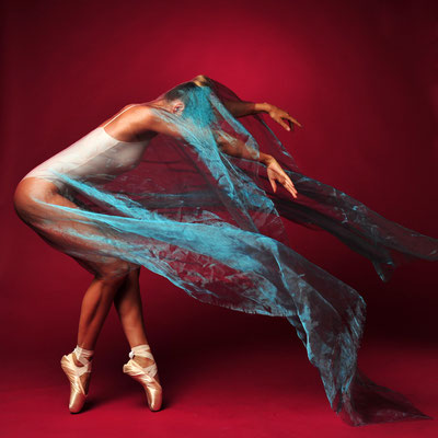 Foto: Andreas Ender | photo-art+painting | DANCE: Serie 5 - 50x50cm, je 377,00€