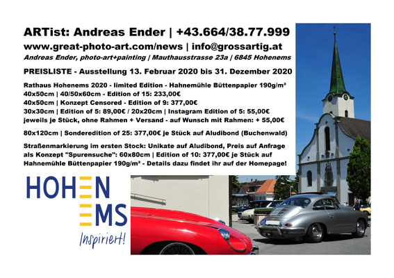 Foto: Andreas Ender, photo-art+painting | Postkarte Rückseite