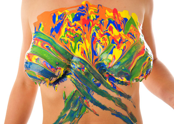 Foto: Andreas Ender, photo-art+painting | BODYpainting 2018 - 70x50cm - Edition of 5