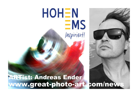 Foto: Andreas Ender, photo-art+painting | Postkarte Vorderseite