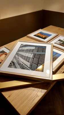 Foto: Andreas Ender, photo-art+painting | ein Tag vor Eröffnung!