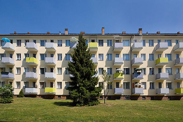 Wohnsiedlung in Haselhorst, Berlin