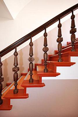 Treppenaufgang eines Altbaues