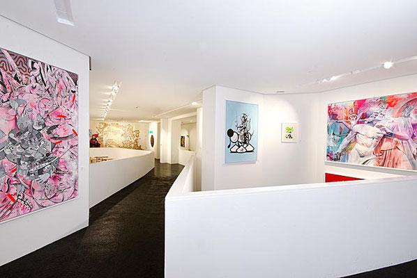 Ausstellungsraum im Urban Nation Museum, Berlin