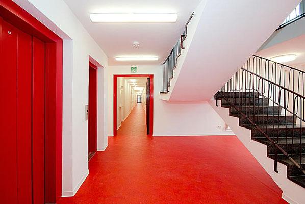 Treppenhaus Wohn!Aktiv-Haus
