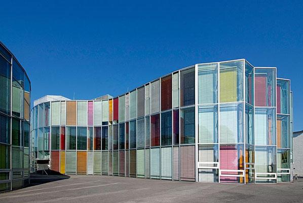Glasfassade in Adlershof