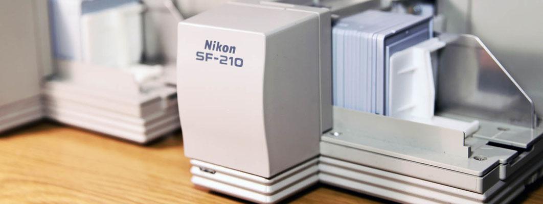 Wir digitalisieren Ihre Dias und Negative ausschließlich mit Nikon Coolscan LS-5000ED Scannern mit 4000dpi