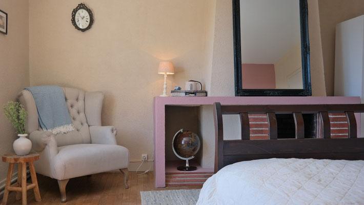 Chambre d'hôtes attrayante avec tout le confort moderne