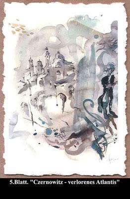 Format: 40 x 50 cm, Technik; Aquarell.  Preis: 500 €