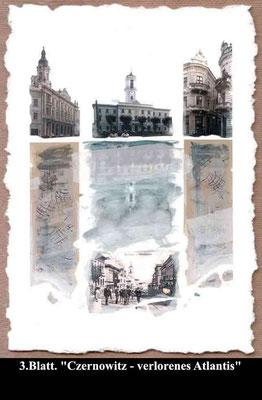 Format: 40 x 50 cm, Technik: Aquarell, Collage. Preis: 500 €