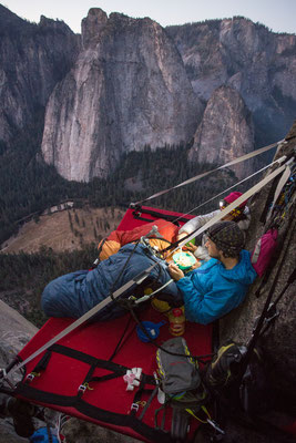 Beautiful view over Yosemite Valley. Picture by Johannes Ingrisch @adidas outdoor