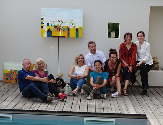 Erwin Schwentner, Gabi Troester, Massimo, Rebekka Hackl, Karl Bauer, Monika Lafer, Renate Bertsch, Esther Wendt, Eva Lassnig