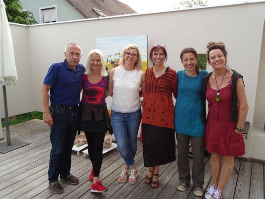 Erwin Schwentner, Gabi Troester, Rebekka Hackl, Esther Wendt, Monika Lafer, Renate Bertsch