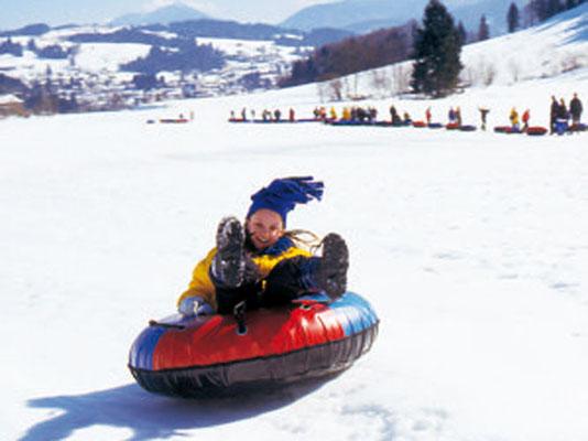 Snowtubing - eine riesen Hetz!