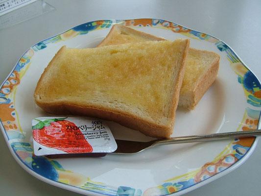 トースト ¥210