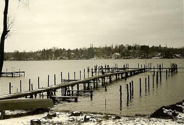 Stege an der Scharfen Lanke 1965