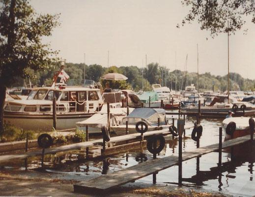Die kleine Sliprampe 1983