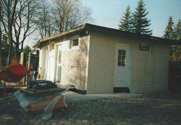 Modernisierung der Sanitäranlage am Pichelssee 2001