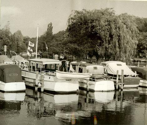 Boote am Pichelssee 1963