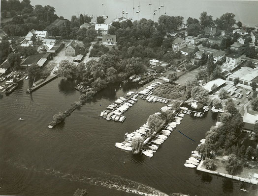 Luftaufnahme vom 11. Juni 1963