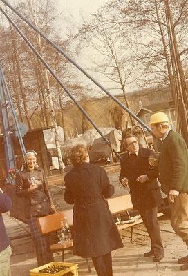 Einweigung unserer neuen Ramme am 19. März 1975