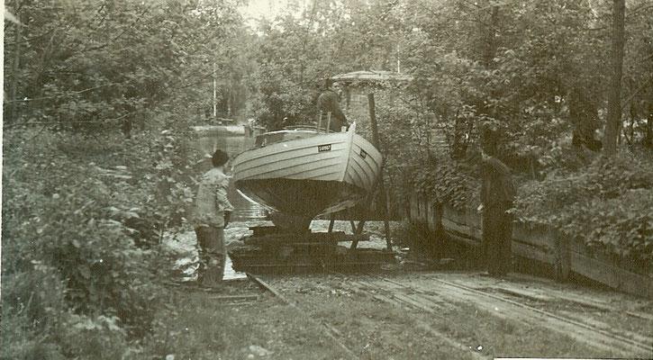 Sliparbeiten am Pichelssee 1952