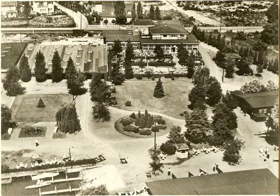 Luftbild unseres Geländes