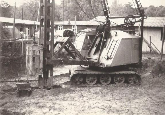 1968 - Ein neues Wohnahaus wird gebaut am Pichelssee